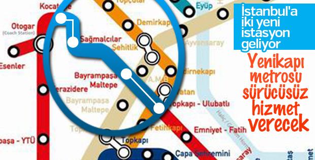 Yenikapı- Atatürk Havalimanı hattı sürücüsüz olacak