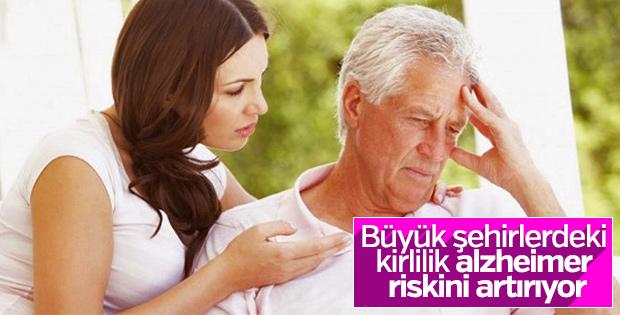 Kirlilik Alzheimer riskini artırıyor