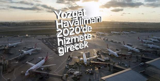 Yozgat Havalimanı'nın temeli 3 Haziran'da atılacak