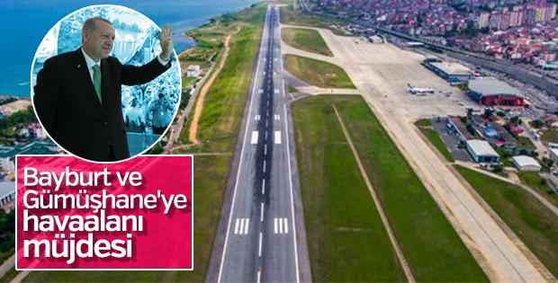 Başkan Erdoğan'dan iki ile havaalanı müjdesi