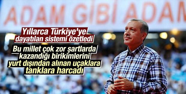 Erdoğan'ın ASELSAN açılışı konuşması