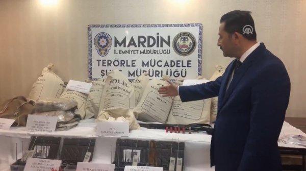 Mardin Valisi: 32 bombalı eylem planları vardı