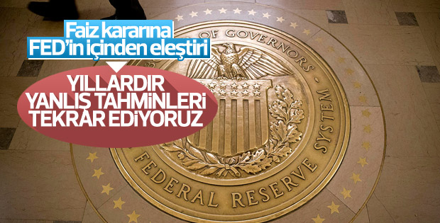Minneapolis Fed Başkanı Kashkari'den faiz eleştirisi