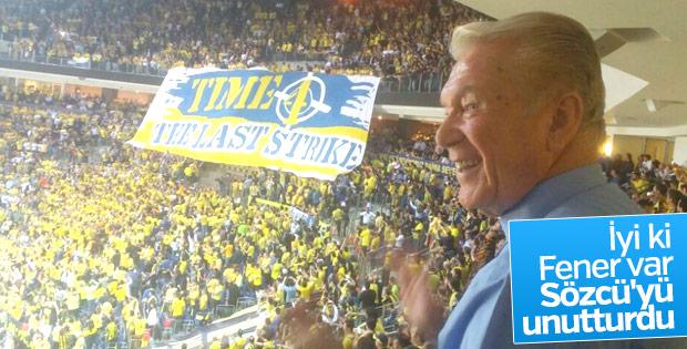 Uğur Dündar'ın Fenerbahçe sevgisi