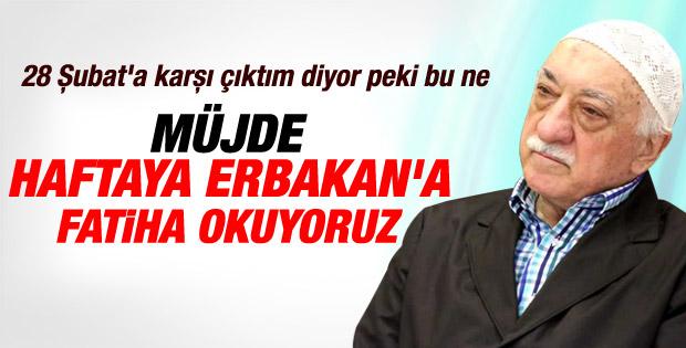 Fethullah Gülen'in 28 Şubat gerçeği