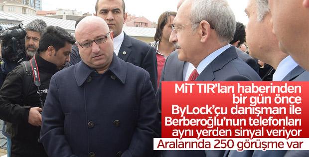 FETÖ'cü danışman, Berberoğlu ile 250 görüşme yapmış