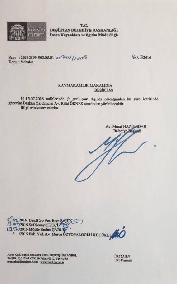 Murat Hazinedar 14 Temmuz'da yurt dışına çıkmıştı