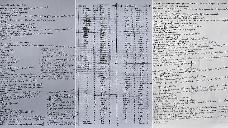 FETÖ sanığının iç çamaşırından ayetler ve notlar çıktı