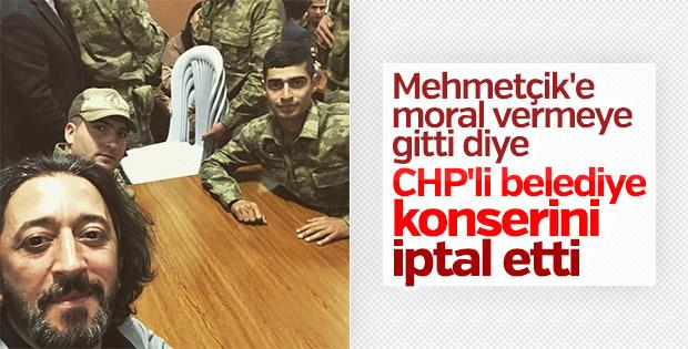 CHP'li belediye Fettah Can'ın konserini iptal etti