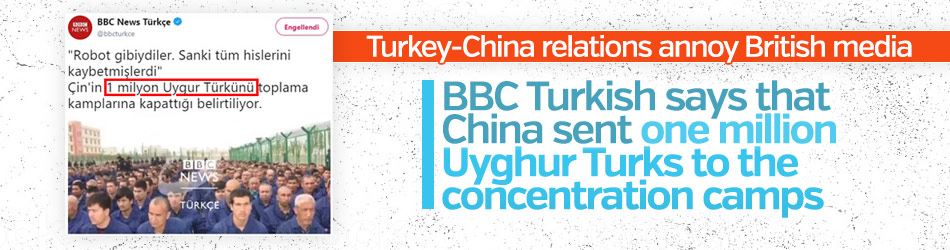Turkey-China relations annoy British media