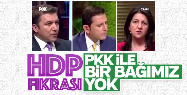 HDP'li Pervin Buldan'dan PKK hakkında çelişkili açıklama