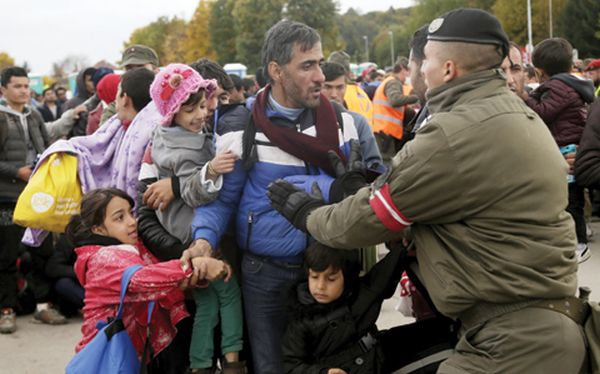 Austria wants to place refugees in detention camps