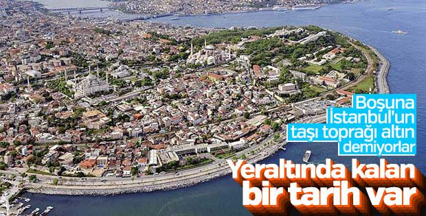 İstanbul'un yeraltındaki şehri