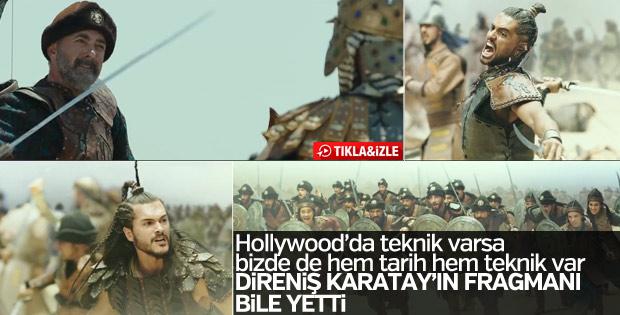 Direniş Karatay filminin fragmanı yayınlandı