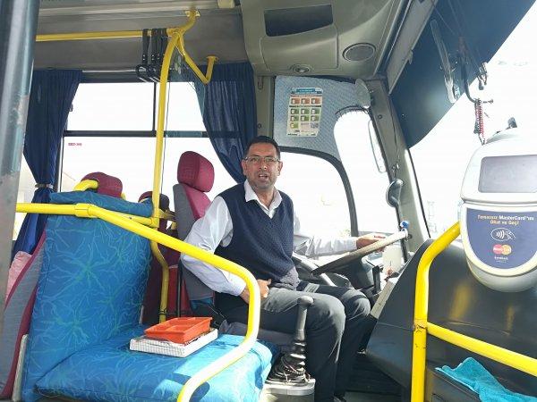 Kocaeli'de hırsızlar halk otobüsünü güpegündüz soydu