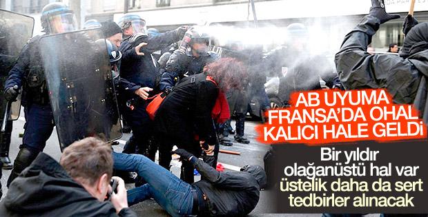 Fransa'da OHAL: Yol, okul ve metrolar kapatılabilecek