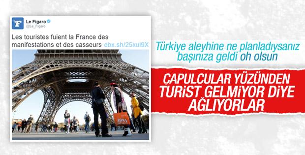 Fransız medyası endişeli: Turist gelmiyor