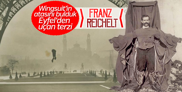 Kumaş paraşütüyle Eyfel'den atlayan terzi: Franz Reichelt