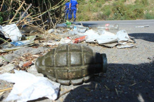Bilecik'te patlamamış el bombası bulundu