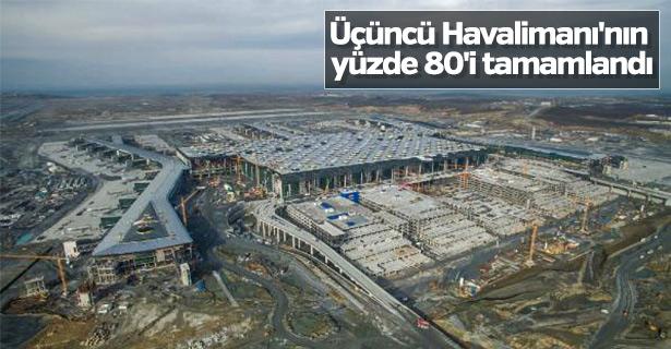 3. Havalimanı'nın son hali havadan  fotoğraflandı