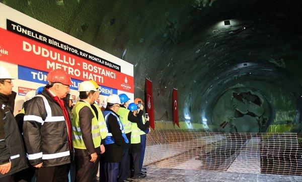 Dudullu- Bostancı Metro Hattı Tünel projesi hayat geçiyor