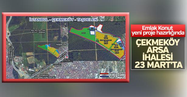 Emlak Konut Çekmeköy arsa ihalesi 23 Mart'ta