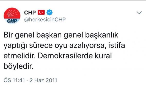 CHP sosyal medyada temizliğe başladı