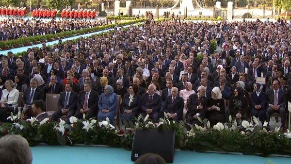 Hayrunnisa Gül, Külliye'deki törene katılmadı