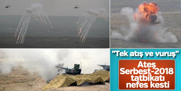 """""""Ateş Serbest-2018"""" tatbikatı ile ilgili görsel sonucu"""