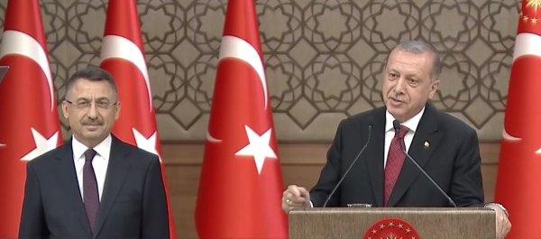 Başkan Recep Tayyip Erdoğan'ın yardımcısı Fuat Oktay oldu