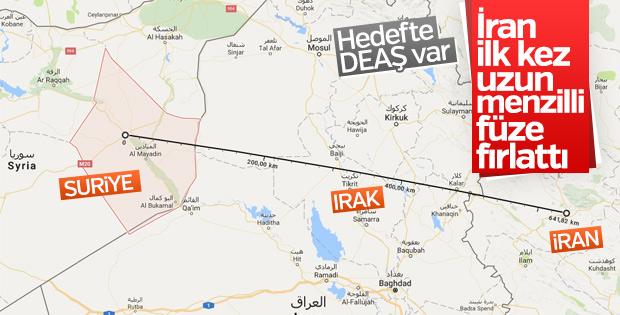 İran'dan Suriye'de DEAŞ hedeflerine füze saldırısı