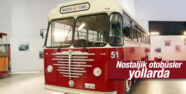 Nostaljik otobüsler yollarda
