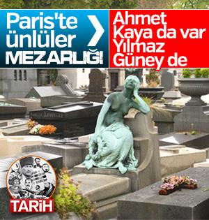 Ünlülerin mezarlığı Pere Lachaise