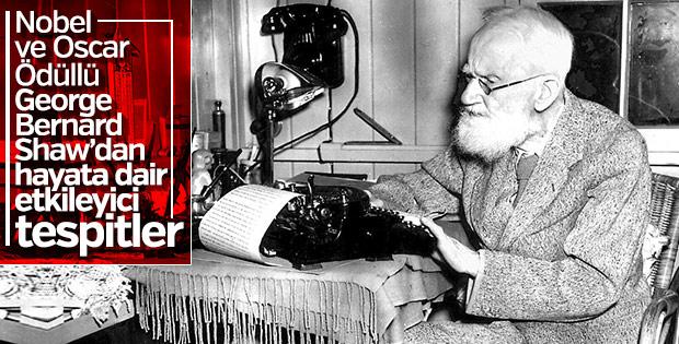 George Bernard Shaw'dan 20 etkileyici tespit