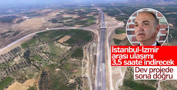 İstanbul - İzmir Otoyolu'nun yüzde 90'ı tamamlandı