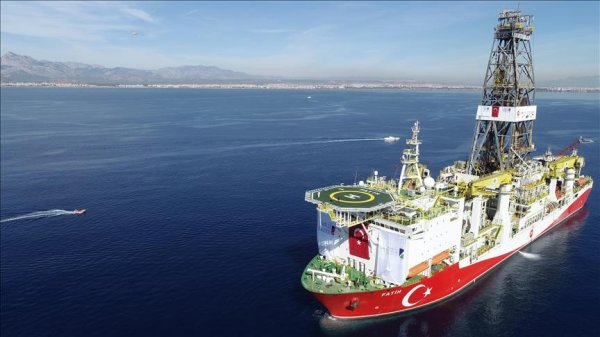 Drilling vessel Fatih starts deep drilling in offshore Mediterranean
