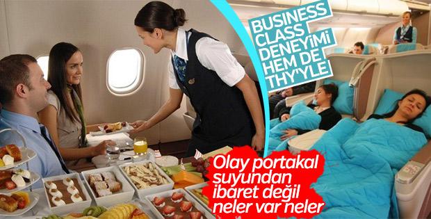 Ayrıcalıklı yolculuk deneyimi: THY Business Class