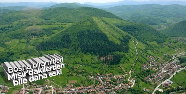 Bosna Hersek'teki piramitleri kaçınız biliyor?
