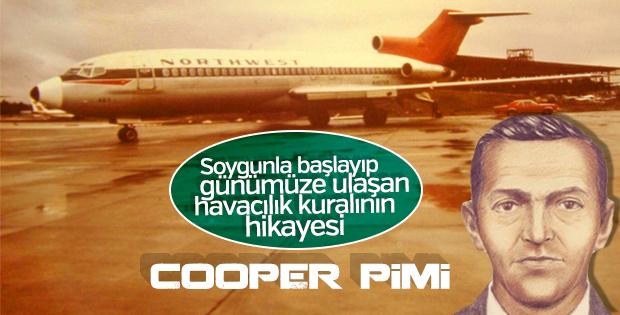 Uçaklardaki Cooper piminin bilinmeyen hikayesi