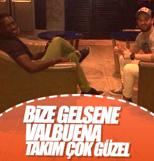 Gomis'ten Valbuena'ya: Galatasaray'a gel