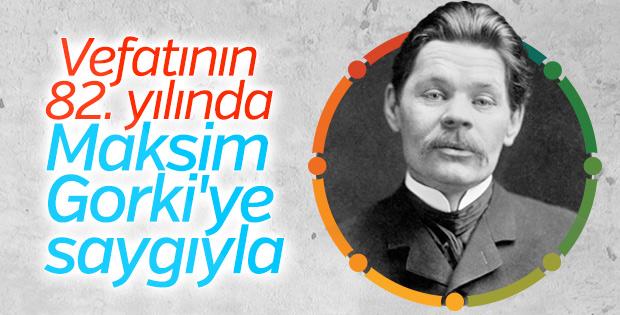 Vefatının 82. Yılında kitaplarından alıntılarla Maksim Gorki
