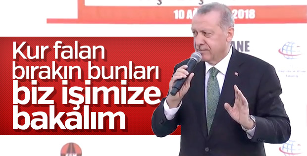 Başkan Erdoğan Gümüşhane'de