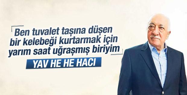 Aranan teröristler listesine giren Gülen ne dedi
