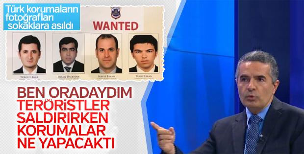 ABD'de Türk korumaların olduğu Wanted pankartları asıldı