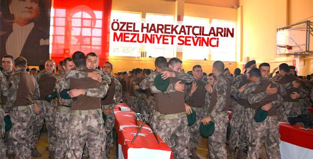 Özel harekat polisleri Balıkesir'de yemin etti
