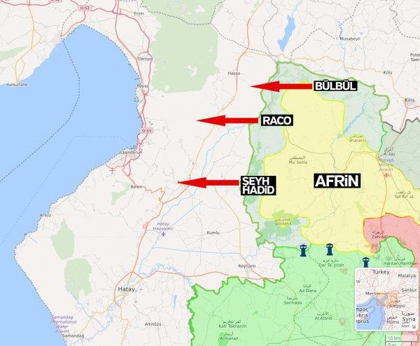Zeytin Dalı Harekatı PKK'nın Akdeniz planını bozdu