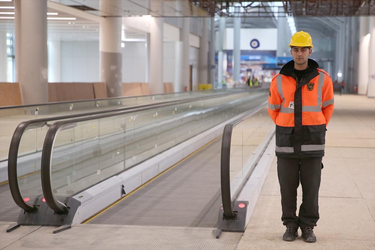 Üçüncü havaalanı tamamlanmak üzere resimler videolar