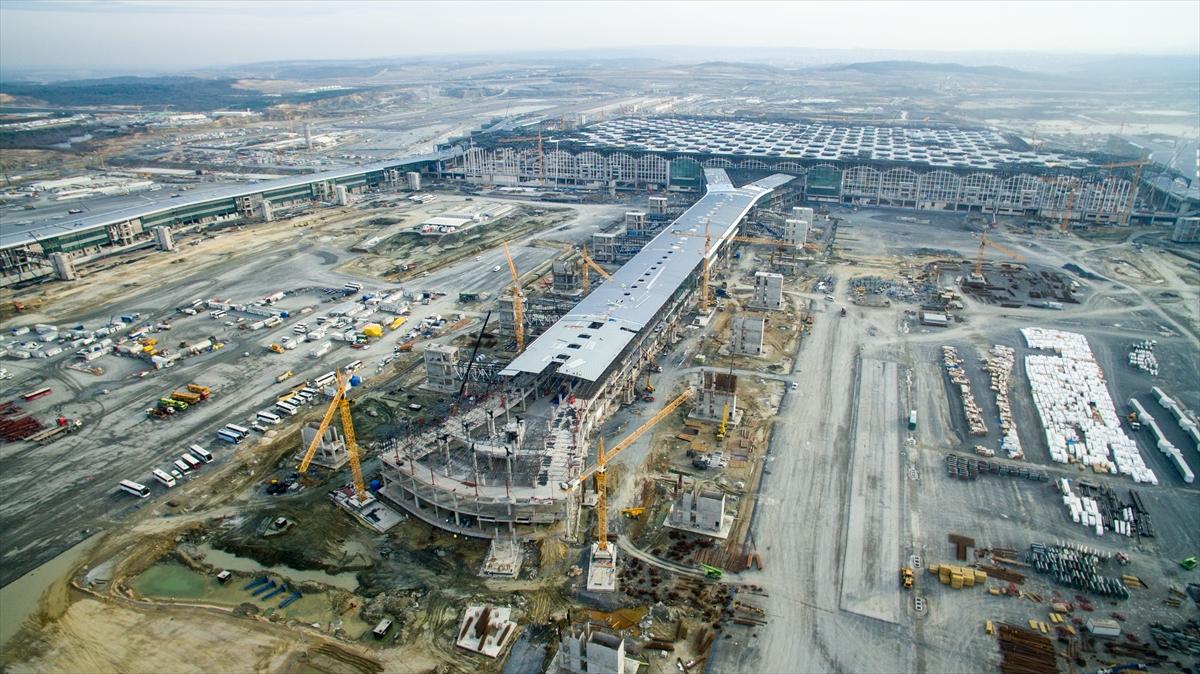 İstanbul 3. havalimanı görseller resimler video