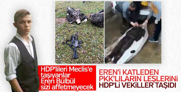 HDP'li 2 vekil PKK'lı cenazesine katıldı
