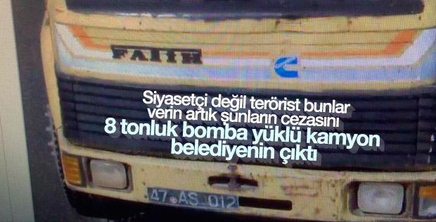 HDP'li belediyenin aracı bombalı saldırıda kullanıldı